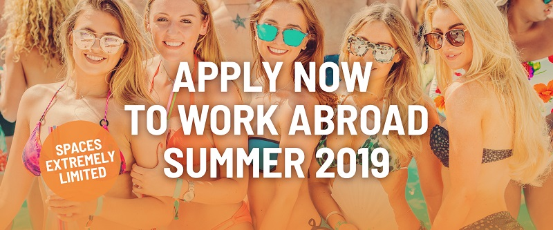 Summer Takeover Working Holidays Abroad